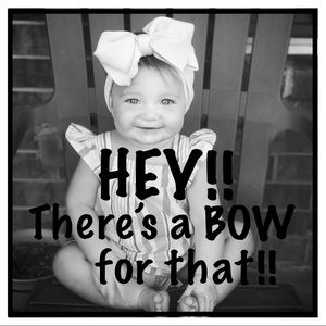 Other - 🎀GET A MATCHING BOW/HEADBAND🎀